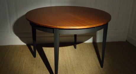 Table ronde vintage - Diametre table ronde 4 personnes ...