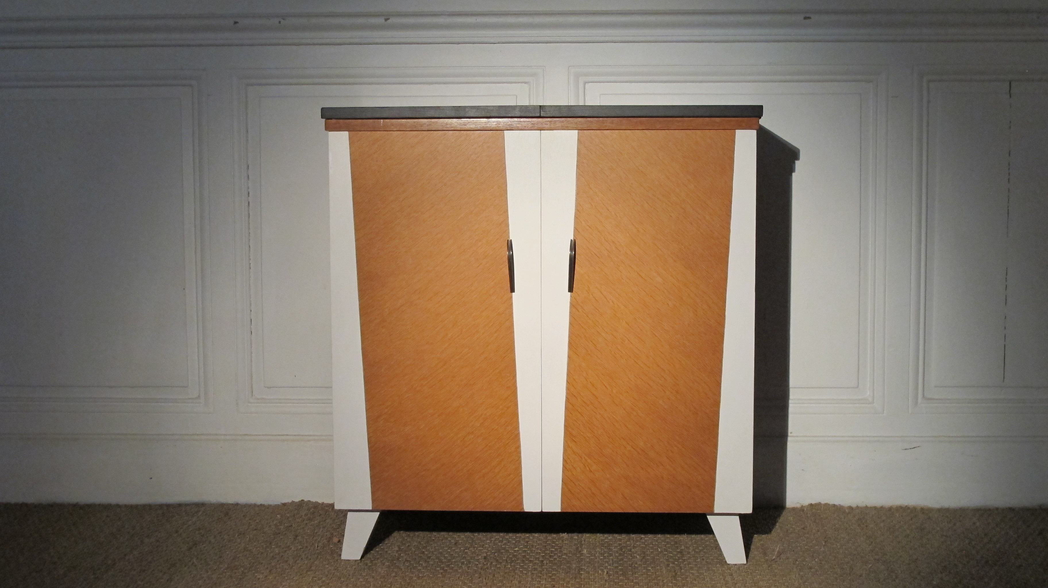 Bureau surprise ann es 1950 vendu lu bee for Meuble bureau 1950
